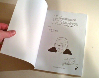 Signed, Personalised And Sketch In Copy of Graphic-Novel Brides Of Babayka.