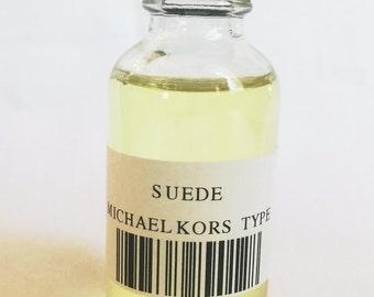 SUEDE MICHAEL KORS Type Fragrance Oil 1oz