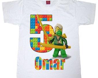 lego ninjago birthday shirt