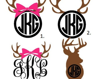 Personalized Hunting Decal