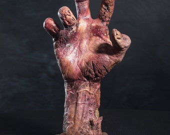 Zombie Resurrection Hand on Base- Lividity  #1
