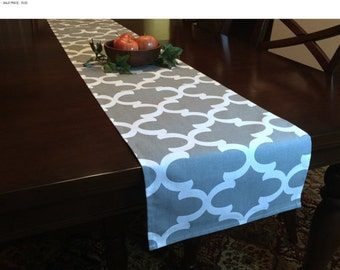 SALE! -  Kitchen Table Runner - Grey Kitchen Table Runner - Kitchen Table - Gray Table Runner