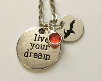 state jewelry,  dreams, inspirational jewelry,  michigan, quote jewelry, UP pendant, Upper Michigan, state pendant, birthstone jewelry