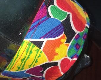 Head Hearts - Reversible Headband - Red, Multicolor