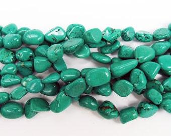 Chinese Turquoise Nugget Gemstone Beads