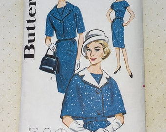 1960s Butterick Dress Pattern No. 2214
