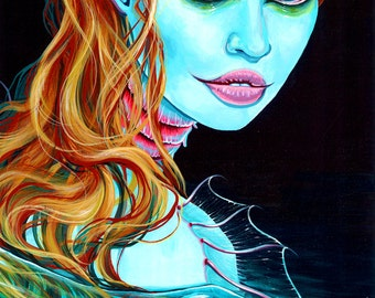 RW2 Limited Edition Print Lagoona Blue Mermaid By Robert Walker