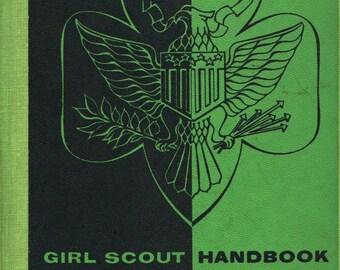 Girl Scout Handbook Intermediate Program - Girl Scouts of the U.S.A - 1958 - Vintage Book