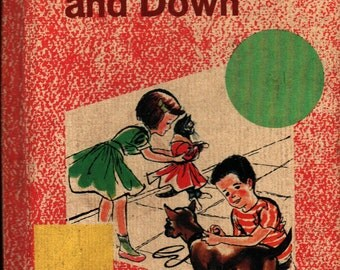 Up the Street and Down - Emmett A. Betts and Carolyn M. Welch - 1965 - Vintage Kids Book