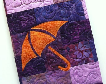 Blessings Quilted Journal Cover Pattern, PDF Download, Cover for Composition Notebook or other sizes, great for gifts