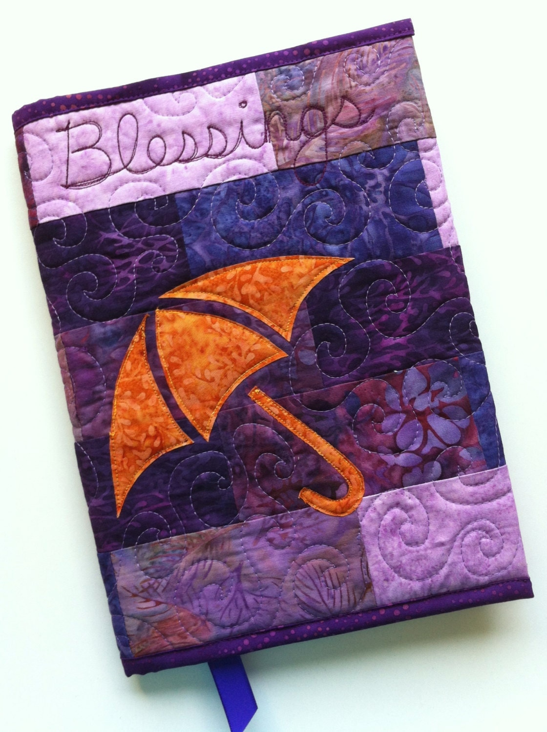 Quilted Book Cover Pattern : Blessings quilted journal cover pattern pdf download