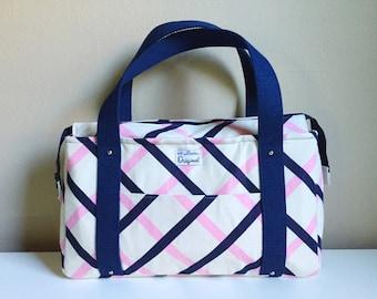 Shoulder Bag for Women, Blue Purse for Women, Handbag for Women, Travel Tote Handbag, Ladies Purse, Fabric Handbag, Cloth Purse