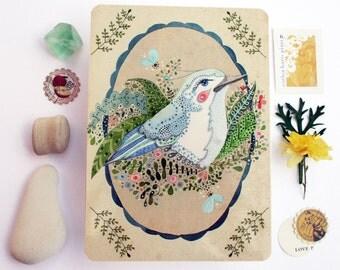 Portrait of a Song Bird - Postcard Set