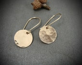 on the sunny side ... 14k gold filled discs