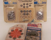Mixed  Bundle Snap Fasteners