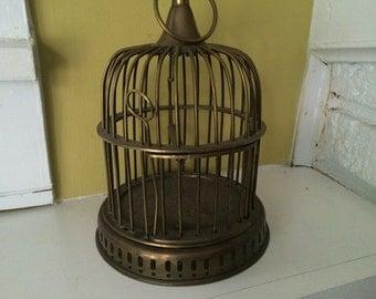 Brass Bird Cage.