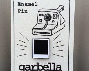 Polaroid Film Enamel Pin