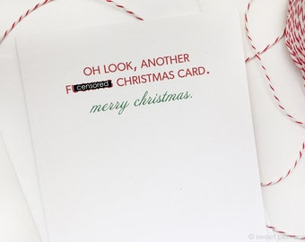 Christmas Card Set. Boxed Holiday Cards. Set of 6 or 12. Funny Christmas Cards. Another Christmas Card.