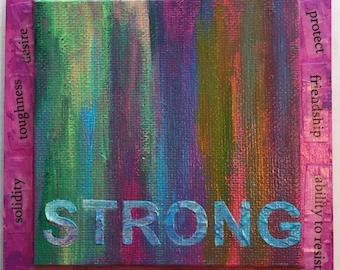 Strong - Inspire Art