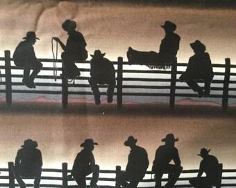 Cowboys Sunset Hot Bowl Hot Pad