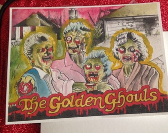 The Golden Ghouls ART PRINT