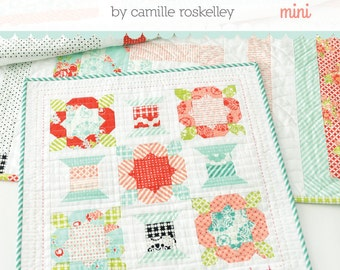 MINI Handmade Mini quilt pattern from Thimble Blossoms