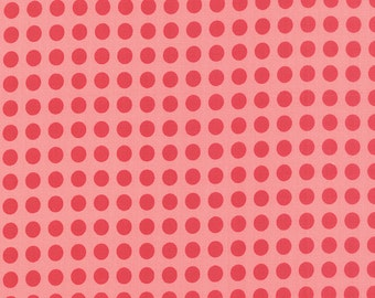 SALE - Gooseberry - Polka Dots in Petal Pink: sku 5013-12 cotton quilting fabric by Lella Boutique for Moda Fabrics - 1 yard
