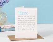 Hero Definition Card