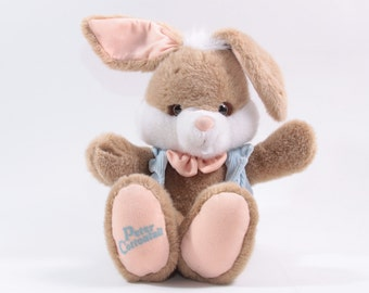 Applause Vintage Plush Peter Cottontail Easter Bunny 1980s Character Plush