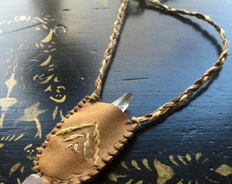 Quartz Roots Crystal Talisman Necklace