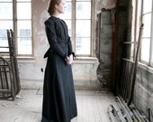Victorian Mourning Dress XS XXS