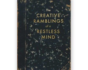 The Creative Ramblings of a Restless Mind - JOURNAL - Humor - Gift