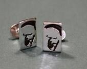 kiteboarding cufflinks 925 Sterling Silver Mens cufflink jewelry by zulasurfing
