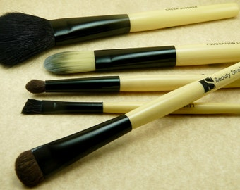 5 Beauty Stroke Professional FM Artist Make Up Cosmetic Brushes