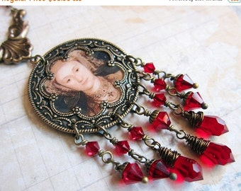 Sale - Tudor Ladies - Anne of Cleves - Medallion Necklace