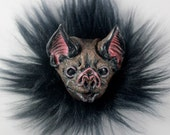 Vampire Bat Resin Pin