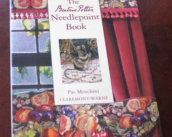 The Beatrix Potter Needlepoint Book by Pat Menchini