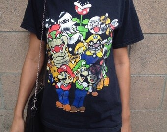 Vintage Super Mario World T-Shirt