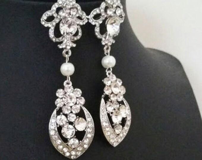 Art eco Wedding Earrings