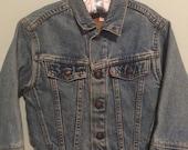 Vintage Levi's Denim Jacket Size 4 Toddler