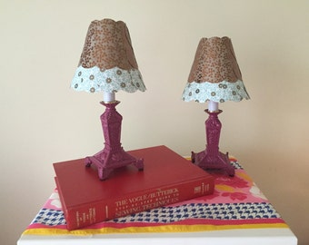 Quirky Library lamps