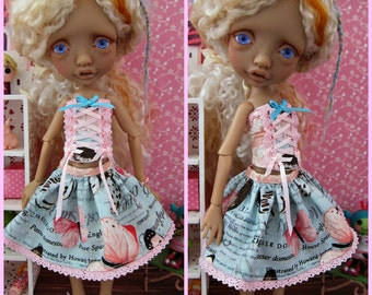 Butterfly Maiden Set for Mystery BJD Tiny BJD by Tickled Pink by Julie