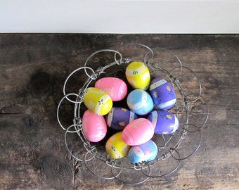 Vintage Wood Easter Eggs by Lillian Vernon