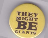 They Might Be Giants Demo Tape Name Button