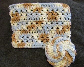 Dish Cloth & Scrubber Set