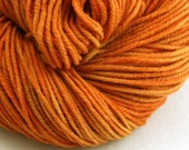Windham 100% US Merino Hand Painted worsted weight 220 yds 201m ~4oz 113g Carrot Juice