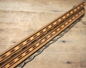 Free Shipping Vintage Wood Tie Belt Rack Holder hook