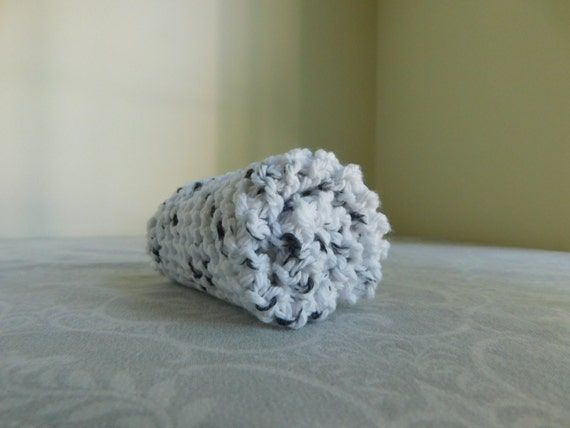 Salt and Pepper Cotton Dishcloth