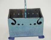 Double Yarn Bowl or yarn plying box for knitting or spinning