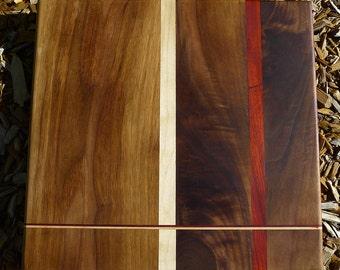 Handmade walnut cutting board—medium—custom!